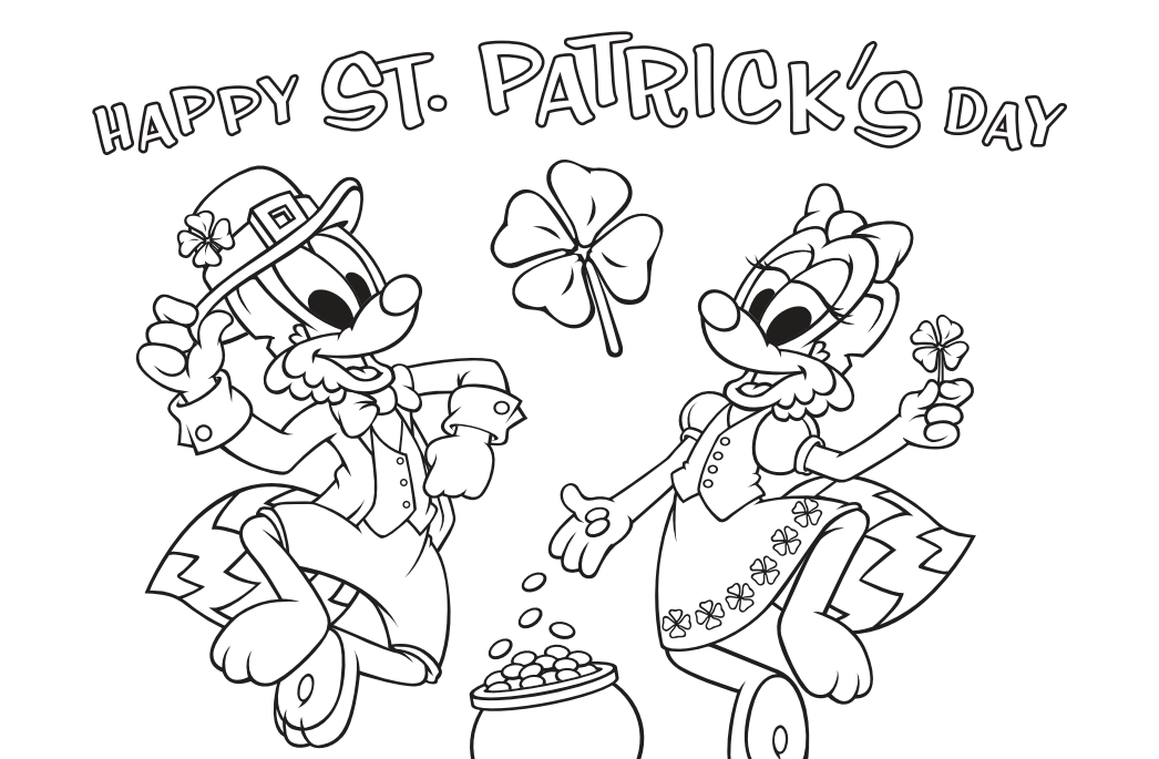 photo relating to St Patrick's Day Coloring Pages Printable identify St. Patricks Working day Coloring Site - Waterford UPSTART