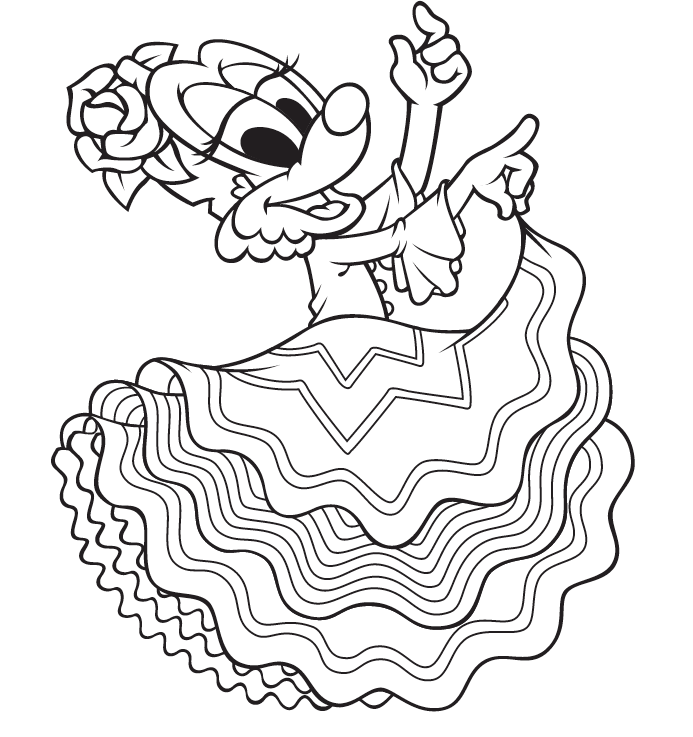 photo about Cinco De Mayo Coloring Pages Printable identified as Cinco de Mayo Coloring Site - Waterford UPSTART